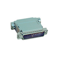Black Box Null Modem Adapter DB25 M/F Pinning B 522301