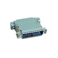 Black Box Null Modem Adapter DB25 M/F Pinning A 522304