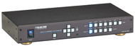 Black Box Presentation Switcher - HDMI, DVI, VGA, DisplayPort, 7x1 AVSC-7DA-HDMI
