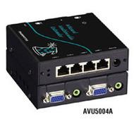 Black Box Wizard Multimedia Transmitter, Quad Video/Stereo Audio AVU5004A