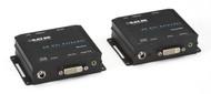 Black Box XR DVI-D Extender with Audio, RS-232, and HDCP AVX-DVI-TP-100M