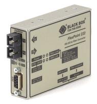Black Box Async RS232 Extender over Fiber DB9 F to SC MM 2.5 km ME660A-MSC