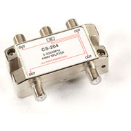 Black Box Cable/Satellite TV Signal Splitter, 2-GHz, 1-4 FA863