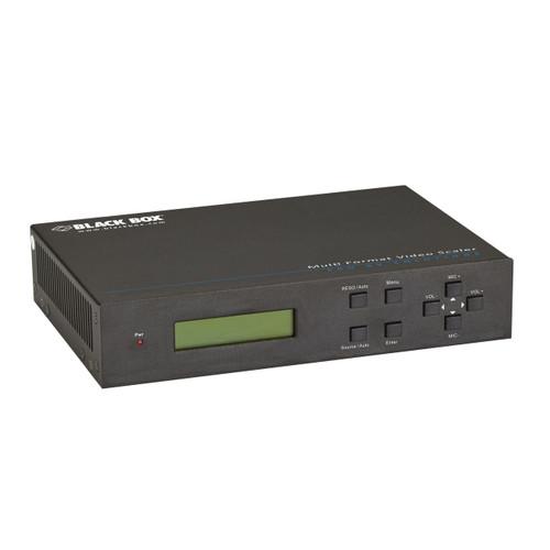 Black Box Multi-Format Video Scaler with Extension AVSC-5DA1-HDB