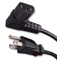 Right Angle Flat Panel TV Power Cord (van_339003)