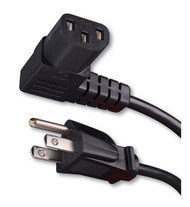 Vanco 339006X Right Angle Flat Panel TV Power Cord (6 Feet): Electronics (van_339006X)