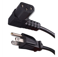 Right Angle Flat Panel TV Power Cord (van_339015X)