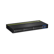 48-Port 10/100Mbps Web Smart Switch w/ 4 Gigabit Ports and 2 Mini-GBIC Slots (trendnet_TEG-2248WS)