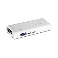 4-Port USB KVM Switch Kit (trendnet_TK-407K)