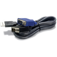 15-feet USB KVM cable for TK-803R/1603R (trendnet_TK-CU15)