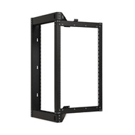 18U Open Frame Swing Out Rack