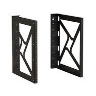 "Wall Mount Rack 12U 18"" Depth 21"" High"