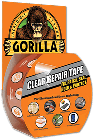 Gorilla Brand Clear Repair Tape
