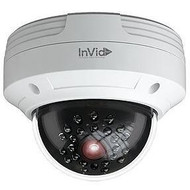 InVid IP Outdoor Rugged Dome Camera, 4MP 3.6mm