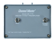 Channel Master Titan 2 Medium Gain Preamplifier 16dB