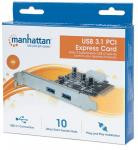 Manhatten 2 Port USB 3.0 PCIe Card