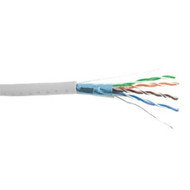 Cat5e Shielded Cable 1000' Box - White