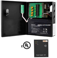 Power Supply/UPS For CCTV & Access Control - 4ch, 12vDC, 5 amp (azco_AZPS4CH-UPS)