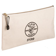 Canvas Zipper Bag  (klein_5139)