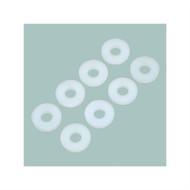 Philmore 10-504 Nylon Flat Washer  #4 x 1/4   30 Pack (lkg_10-504)