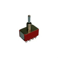 Philmore 30-10032 : Mini Toggle Switch  4PDT 5A @120V  ON-OFF-ON (lkg_30-10032)