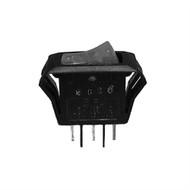 Philmore 30-395 Lighted Rocker Switch  SPST 15A @125V  ON-OFF  Red (lkg_30-395)