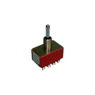 Philmore 30-10034 : Mini Toggle Switch  4PDT 5A @120V  ON-ON (lkg_30-10034)