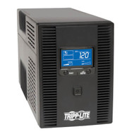 120V 1300VA 720W Line-Interactive UPS, AVR, Tower, LCD, USB, 8 Outlets