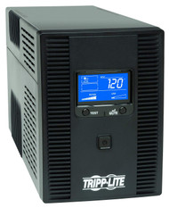 120V 50/60Hz 1500VA 900W Line-Interactive UPS, AVR, Tower, LCD, USB, 10 Outlets