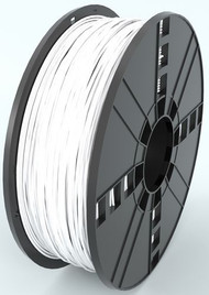 PLA, 1.75 mm, 1 kg Spool - 3D Printer Filament - WHITE