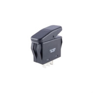 SWITCH WATERPROOF NON-ILLUMINATED ROCKER SPST 20A ON-NONE-OFF .250 QC TERMINALS (nte_54-221W)