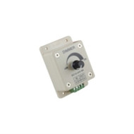 LED DIMMER KNOB OPERATED CONTROL 12VDC SUPPLY VOLTAGE 8 AMP 96 WATTS MAX OUT FOR SINGLE COLOR STRIPS (nte_69-DIM2)