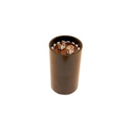 CAPACITOR MOTOR START AC ELECTROLYTIC 145-174UF 125VAC .250 INCH QUICK CONNECT TERMINALS (nte_MSC125V145)