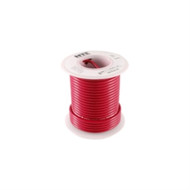HOOK UP WIRE 300V SOLID TYPE 20GAUGE RED 25 FEET (nte_WHS20-02-100)