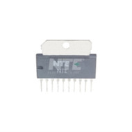 INTEGRATED CIRCUIT AUDIO POWER AMP PO=5.8W 10-LEAD SIP VCC=18V (nte_NTE1278)