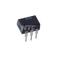 OPTOISOLATOR WITH TRIAC OUTPUT 6-PIN DIP VISO=7500V VDRM=250V (nte_NTE3047)