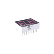 LED DISPLAY RED 2-DIGIT 0.560 INCH SEVEN SEGMENT COMMON ANODE RIGHT HAND DECIMAL POINT (nte_NTE3074)