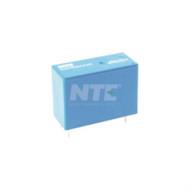 RELAY-SPDT 16AMP 12VDC PC BOARD MOUNT SLIMLINE (nte_R22-5D16-12)