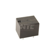 RELAY-SPDT 12AMP 12VDC SEALED LOW PROFILE FOR USE IN SECURITY/APPLIANCES/GARAGE DOOR OPENERS/AUDIO (nte_R46-5D12-12)