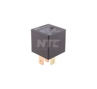 RELAY SPST-NO 50A 12VDC .250 INCH QUICK CONNECT TERMINALS FOR AUTOMOTIVE AND MARINE USE (nte_R51-1D40-12)