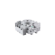 RELAY SOCKET 11-PIN OCTAL PANEL/SURFACE MOUNT DIN IN RAIL MOUNTABLE PRESSURE CLAMP SCRTEWS (nte_R95-114)