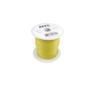 HOOK UP WIRE AUTOMOTIVE TYPE 16GAUGE YELLOW STRANDED 100 FEET (nte_WA16-04-100)