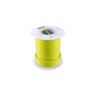 HOOK UP WIRE 300V STRANDED TYPE 22GAUGE YELLOW 100 FEET (nte_WH22-04-100)
