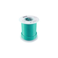 HOOK UP WIRE 300V STRANDED TYPE 24GAUGE GREEN 25 FEET (nte_WH24-05-25)
