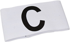 Captain Armband - White [From: $7.20]