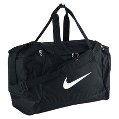 CLUB TEAM SWOOSH DUFFEL BLACK [FROM: $38.50]