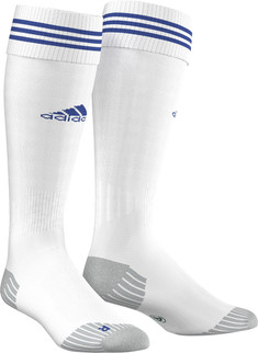 ADI SOCK 18 WHITE/BOLD BLUE [FROM: $15.00]