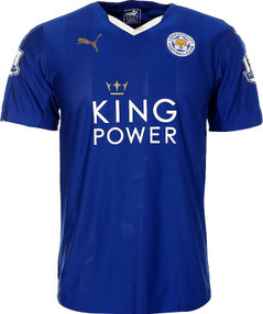 LEICESTER HOME JERSEY 16/17