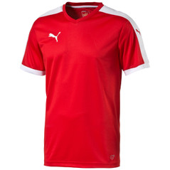 LIGA JERSEY S/S  RED/WHITE [FROM: $21.00]