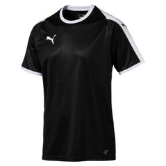 LIGA JERSEY S/S BLACK/WHITE [FROM: $21.00]